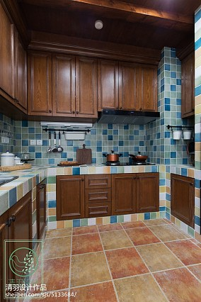 温馨860平美式别墅设计案例别墅豪宅美式经典家装装修案例效果图