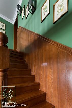 华丽997平美式别墅设计美图别墅豪宅美式经典家装装修案例效果图