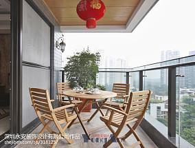 热门新古典四居阳台装修欣赏图片