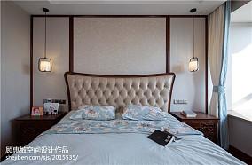 热门面积112平中式四居卧室装修设计效果图片大全