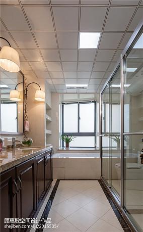 精选面积124平中式四居卫生间装修欣赏图片大全