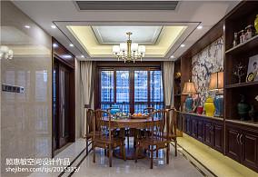 精选132平米四居餐厅中式装修图片