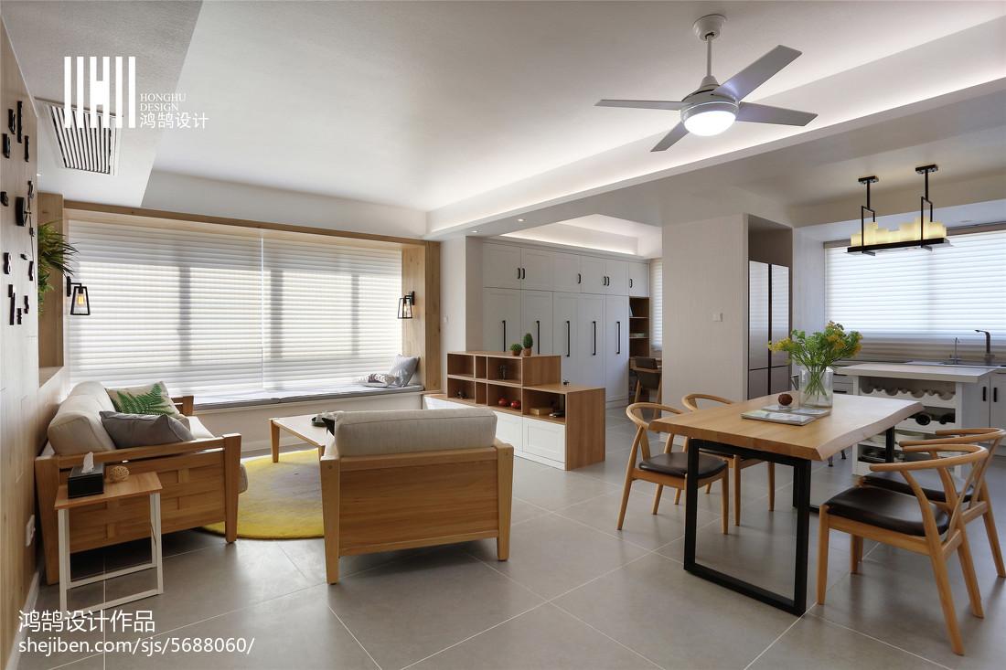 精选103平米三居客厅北欧装修欣赏图片大全客厅