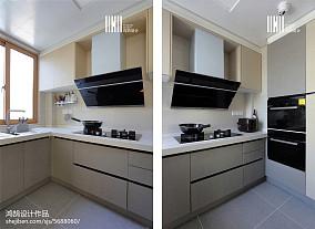2018精选北欧三居厨房实景图片大全家装装修案例效果图