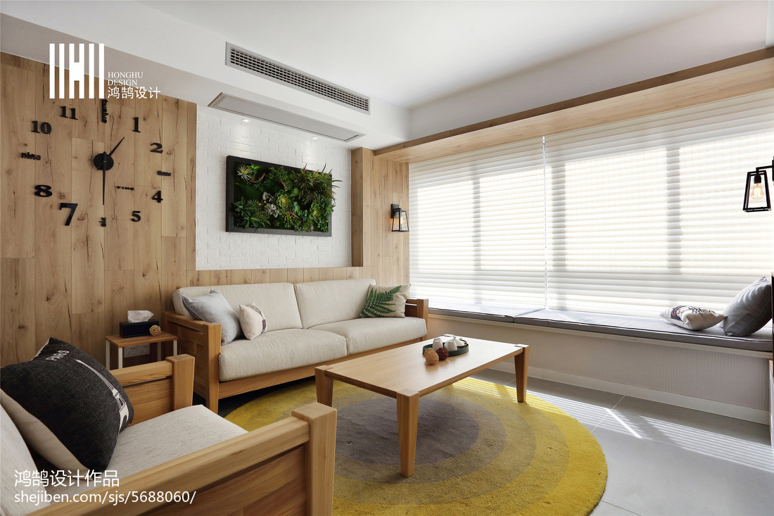 平米三居客厅北欧欣赏图片大全客厅北欧极简客厅设计图片赏析