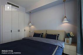 温馨124平北欧三居装修案例三居北欧极简家装装修案例效果图