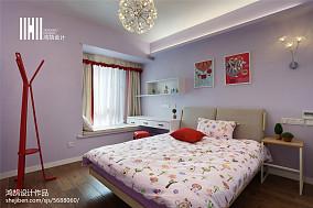 2018面积105平北欧三居儿童房装饰图片大全