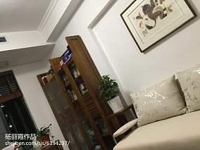 中式现代厨房隔断门效果图