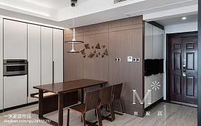 精美140平米四居餐厅美式装修欣赏图121-150m²四居及以上美式经典家装装修案例效果图