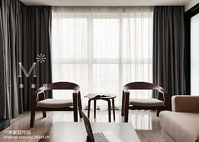 2018精选大小122平美式四居客厅装修实景图片121-150m²四居及以上美式经典家装装修案例效果图