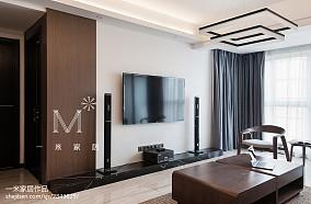 精美面积114平美式四居客厅装修欣赏图片大全121-150m²四居及以上美式经典家装装修案例效果图