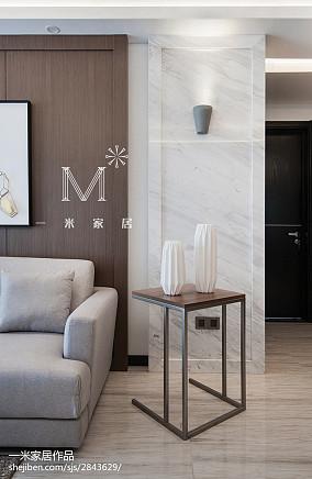 2018精选124平方四居客厅美式装修图片欣赏121-150m²四居及以上美式经典家装装修案例效果图
