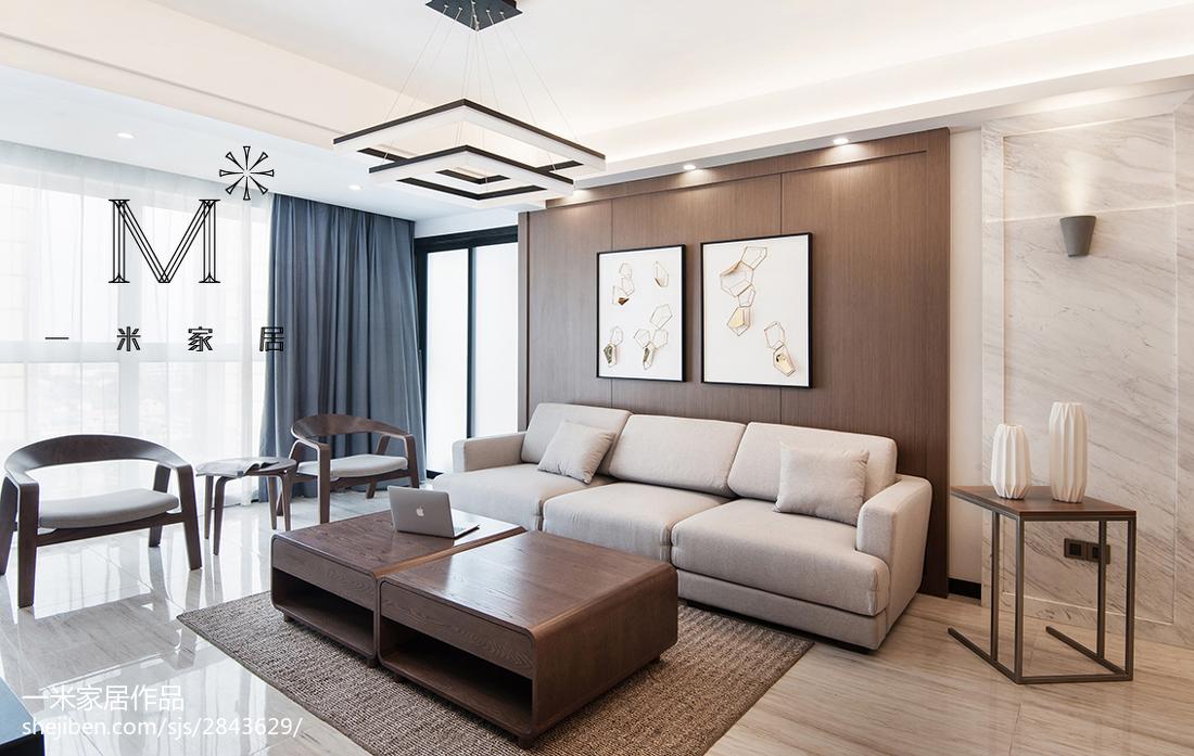 质朴130平美式四居设计效果图121-150m²四居及以上美式经典家装装修案例效果图