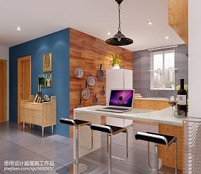 精选现代复式厨房装修欣赏图