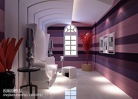 精美面积110平复式休闲区现代装饰图