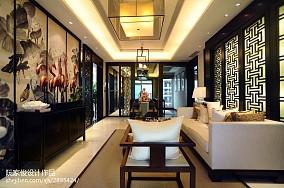 现代简约小客厅电视墙的设计
