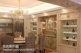 2018精选138平米四居餐厅欧式装饰图片大全