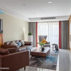 2018面积100平北欧三居客厅装修效果图