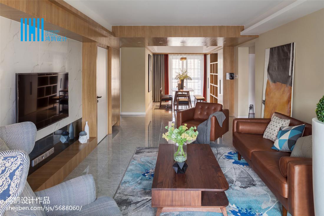 2018精选97平米三居客厅北欧装修实景图客厅北欧极简客厅设计图片赏析