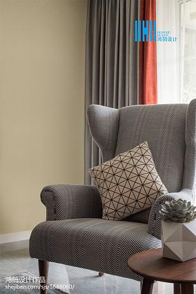 2018面积106平北欧三居客厅装修设计效果图家装装修案例效果图
