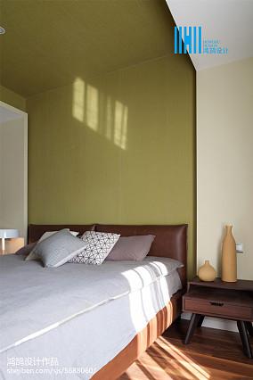 精美北欧三居卧室设计效果图三居北欧极简家装装修案例效果图
