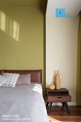 精选面积109平北欧三居卧室装修设计效果图家装装修案例效果图