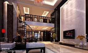 精选119平方中式别墅客厅装饰图