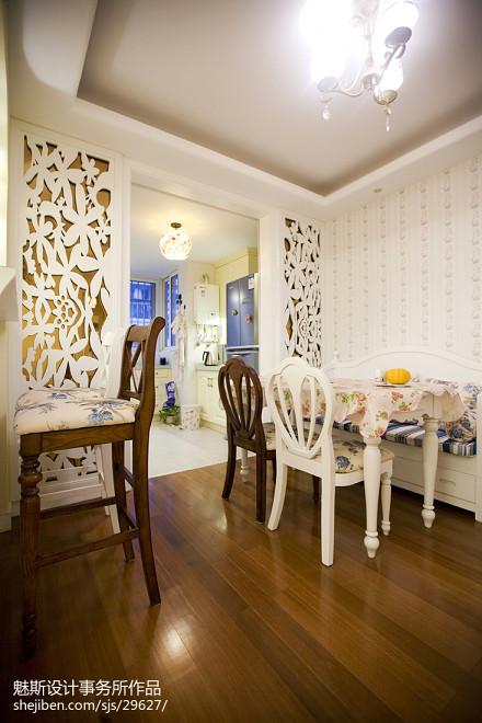 热门地中海二居餐厅实景图片