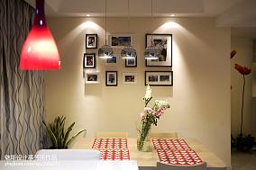 精选92平米三居餐厅简约装修图片