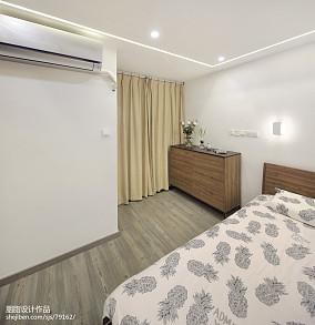 优美87平混搭三居卧室装饰图片卧室潮流混搭设计图片赏析