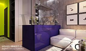 精美86平米简约小户型客厅装修图