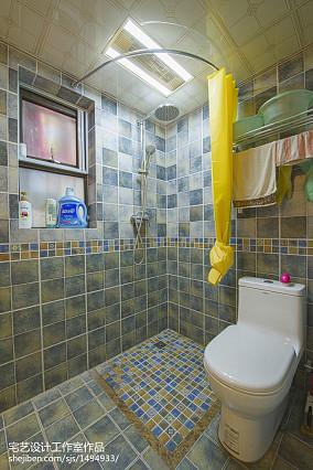 明亮89平地中海二居卫生间装饰美图卫生间2图地中海设计图片赏析