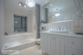 精美104平简欧三居装修图片121-150m²三居欧式豪华家装装修案例效果图
