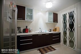 精美简欧三居厨房欣赏图片大全121-150m²三居欧式豪华家装装修案例效果图