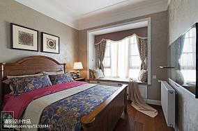 典雅160平美式四居卧室装修案例