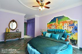 美式格调卧室效果图装修别墅豪宅美式经典家装装修案例效果图