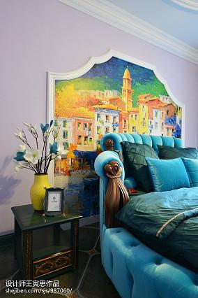 质朴362平美式别墅卧室设计案例别墅豪宅美式经典家装装修案例效果图