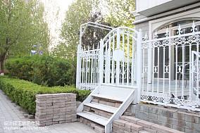 轻奢455平美式别墅花园装修图别墅豪宅美式经典家装装修案例效果图