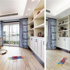 优美90平中式三居休闲区装修美图