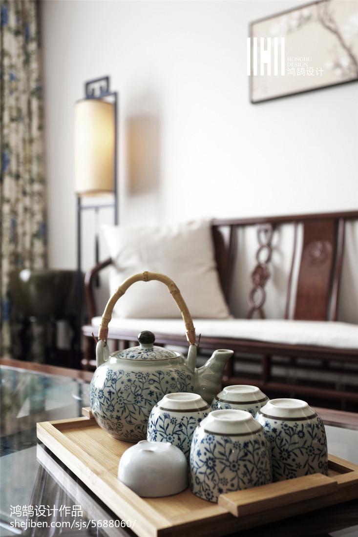 热门102平米三居客厅中式欣赏图客厅1图中式现代客厅设计图片赏析