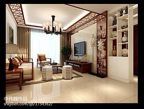 热门119平米四居客厅简约装饰图片大全