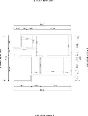90平现代风格两室一厅装修效果图