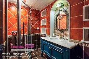 精美二居卫生间美式装修欣赏图片