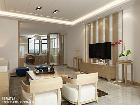 中式客厅电视背景墙图片