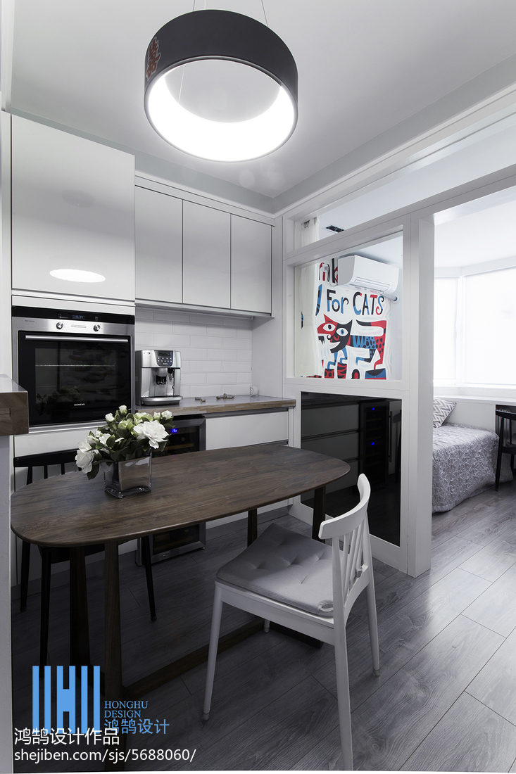 精选二居餐厅北欧装修设计效果图客厅北欧极简客厅设计图片赏析