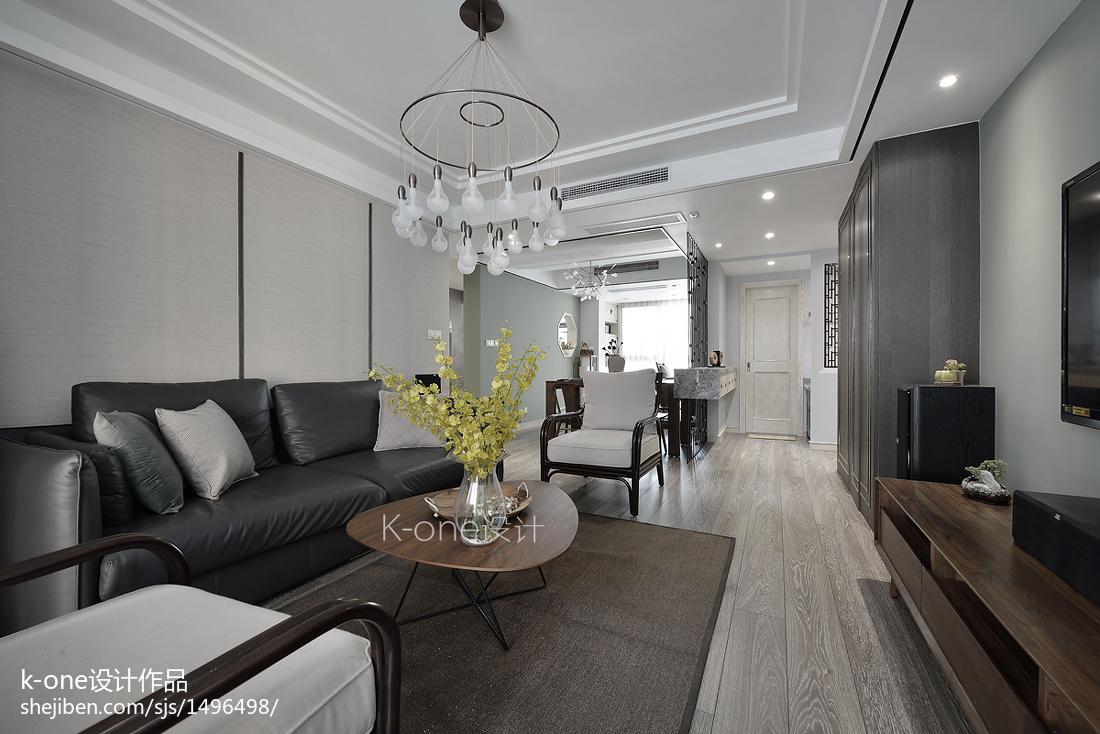 时尚家装中式客厅效果图
