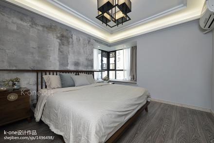 精美中式四居卧室装饰图卧室