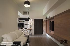精美75平米現代小戶型客廳欣賞圖
