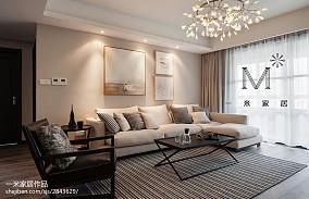 浪漫160平现代三居装修效果图