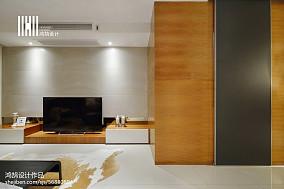 平方三居客厅现代装修设计效果图片大全三居现代简约家装装修案例效果图
